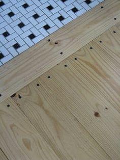 Floor ideas on pinterest painted floors plywood floors for Inexpensive flooring alternatives