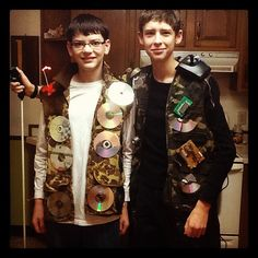 """My techie boys on """"Recycle Day"""" at school - MVL Homecoming 2013 school"""