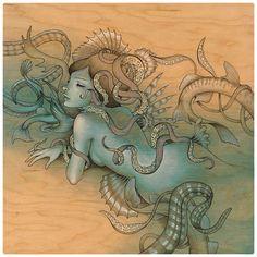 mermaidxfreak:    Audrey Kawasaki