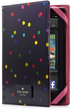 look closer to the image:) kate spade new york Kindle Fire Case Cover, Sprinkle Dot