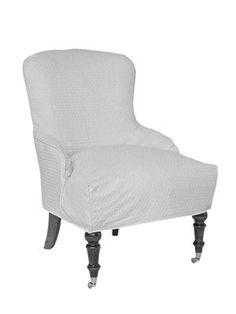 Gloria Slipcovered Chair - Mitchell Gold + Bob Williams