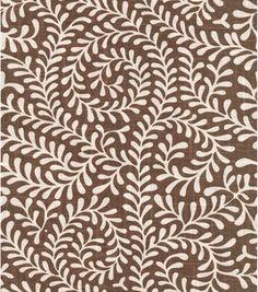 8''x 8'' Home Decor Swatch-Annie Selke Scramble Chocolate & Home Decor Memo Swatches at Joann.com