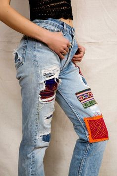 HYM Salvage X Urban Renewal Destroyed + Patched Jean