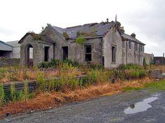 abandoned train station, Ardglass Co. Down, Ireland