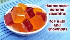 Homemade Chewable Vitamins