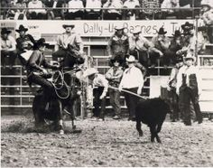 1984 - the NFR celebrates 25 years and Roy Cooper becomes the first Triple Crown champion (all-around, tie-down roping and steer roping) since Jim Shoulders and the first of the NFR era. #WranglerNFR