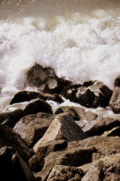 the pacific ocean, malibu beach. 3/2012