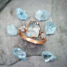 ???Who favors an unconventional shaped ring for their engagement? Here???s a glimpse of a unique ring by by Angeline! We can???t take our eyes off from the??????