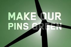 It's simple. We want green pins.  http://www.greenpeace.org/usa/clickclean/  #clickclean