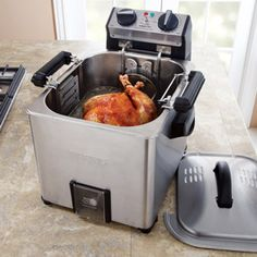 Waring Pro Rotisserie Turkey Fryer/Steamer