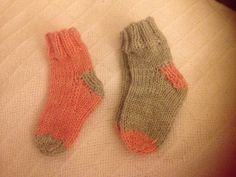 """Just Your basic baby sock."""" Pattern by Patti Pierce Stone -2003."""