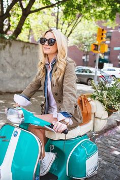 scooter #fashion #summer #jacket