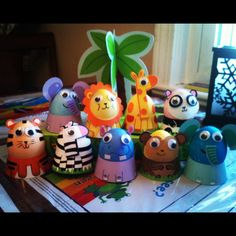 Easter Egg Safari!!!! So freaking adorable!