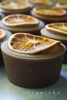 Orange Cinnamon Soap.