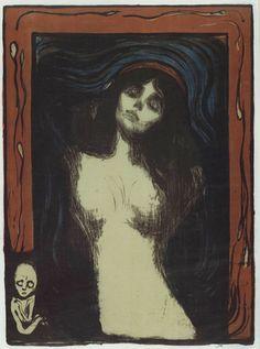 Edvard Munch--Madonna