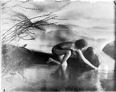 anne brigman is probably my favorite photographer that i've learned about so far...pictorialism may be silly to some, but there's something about the dream-like quality that i love