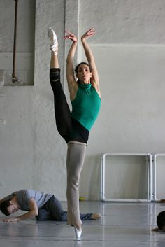 Pennsylvania Ballet - Swan Lake rehearsal