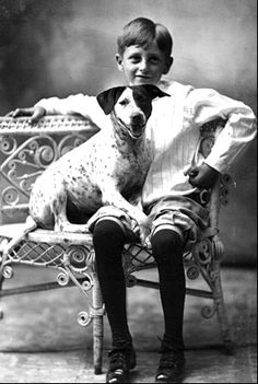 .and boy and his dog...