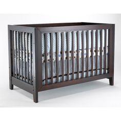 Dark gray crib