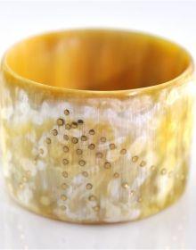 horn bracelet..