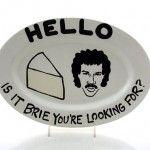 Lionel Richie Cheese Platter
