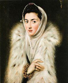 Sofonisba Anguissola, Lady Wearing Ermine, c.1580