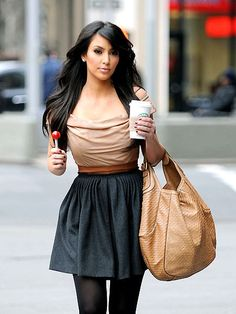 Love her or hate her, the girl has got some style & enviable curves! Kim Kardash.