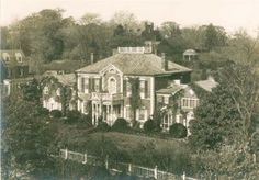 Dumbarton House in circa 1915, before it was restored.