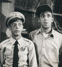 """Haunted House Episode"" - One of my most favorite Andy Griffith Show episodes. I love those scared looks!"