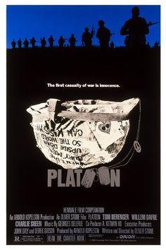 Platoon. Estados Unidos, 1986. Dir. y guión: Oliver Stone. Int.: Tom Berenger, Charlie Sheen, William Dafoe, Kevin Dillon, Mark Moses, Forest Whitaker, Johnny Depp.
