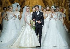 wedding dressses, fashion, pronovia 2014, dresses, gown, blog, barcelona, elie saab, atelier