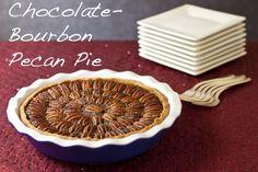 Thanksgiving e-book feature: Chocolate-bourbon pecan pie from Recipe Renovator: Twelve Terrific Thanksgiving Recipes: Gluten-Free & Vegan ($2.99 PDF)