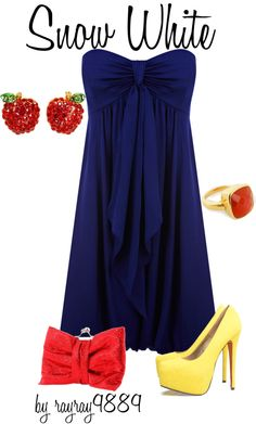 Snow White, created by raven-ferrel on Polyvore