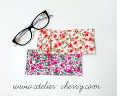 ATELIER CHERRY: Porta-óculos em feltro - Passo a passo