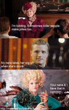 When Mean Girls meets The Hunger Games. Ahahaha.