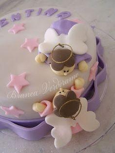 bolo para o batizado