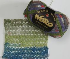 Taiyo Lace by Noro - A yarn review from Love of Crochet magazine - We love the color combinations!