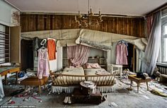 Decaying doctor's house in Germany