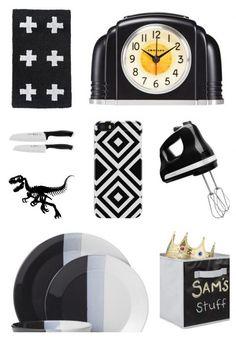 Hot at Target: Black + white home decor