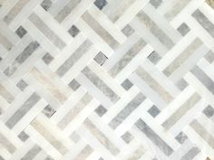 """Windswept"" mosaic marble tile from Home Depot ......"