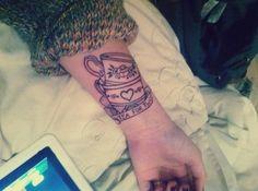 'Tea For Two' tattoo