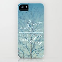 Don't Regret iPhone Case by Brandy Coleman Ford -