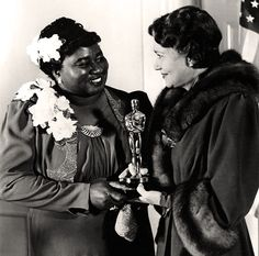 Hattie McDaniel and her Oscar