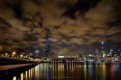 Chicago panoramic by Bogdan Vasilic