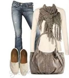 comfy outfit for Fall...love this entire outfit