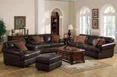 Brown Leather Sofas: The Best Choice?