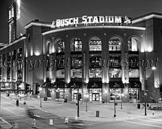 Busch Stadium. St Louis, MO -- Where I fell in love. Old  New Busch. Several Games.