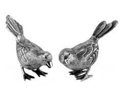 Moineau Silver Birds - French Country - Pierre Deux