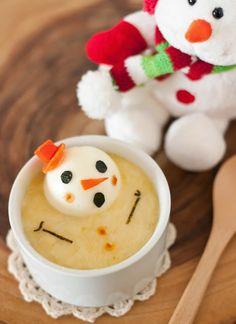 Cheesy Melting Snowman - http://www.pincookie.com/cheesy-melting-snowman/