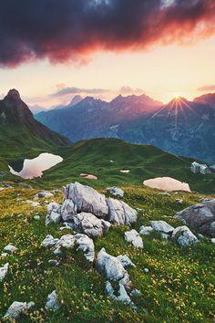 Alpine Sunset | Michael Breitung